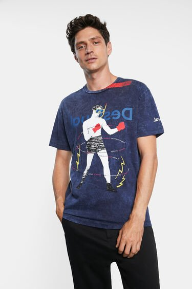 T-shirt collage print | Desigual