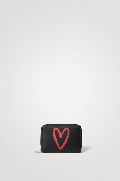 Small heart purse