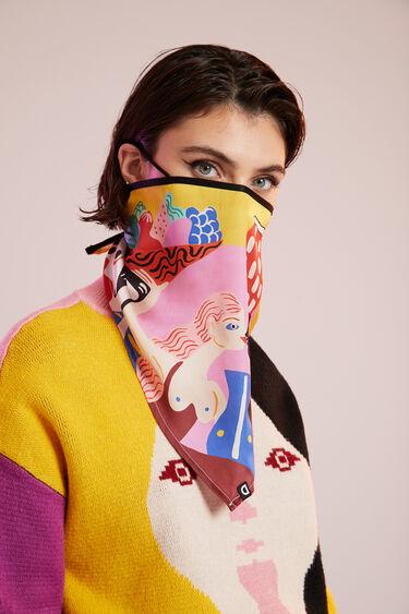 Miranda Makaroff face mask cover | Desigual