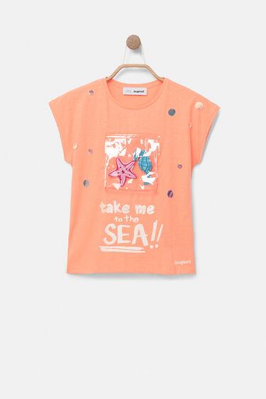Samarreta amb butxaca del mar | Desigual