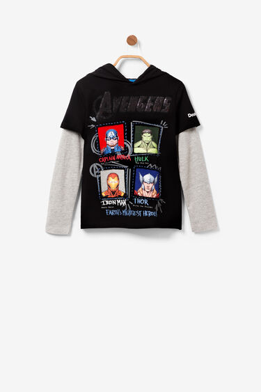 Avengers Shirt mit Wendepailletten | Desigual