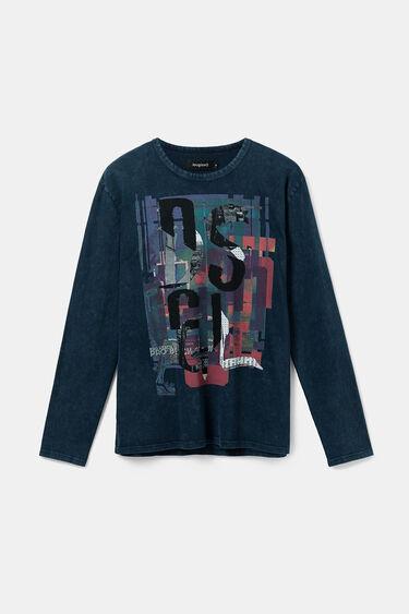 Baumwoll-Shirt mit langen Ärmeln | Desigual