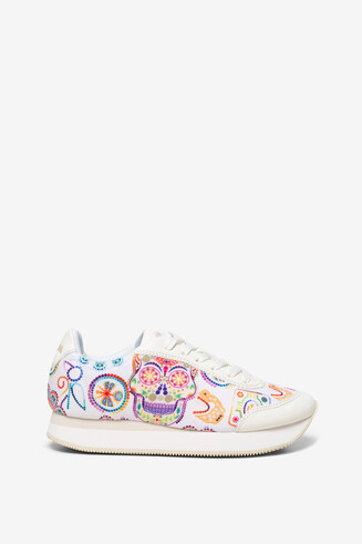 Sneakers teschio Shoes Galaxy Skull