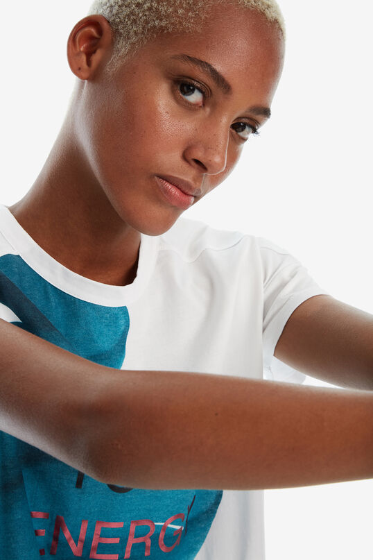 Maglietta oversize pennellata | Desigual