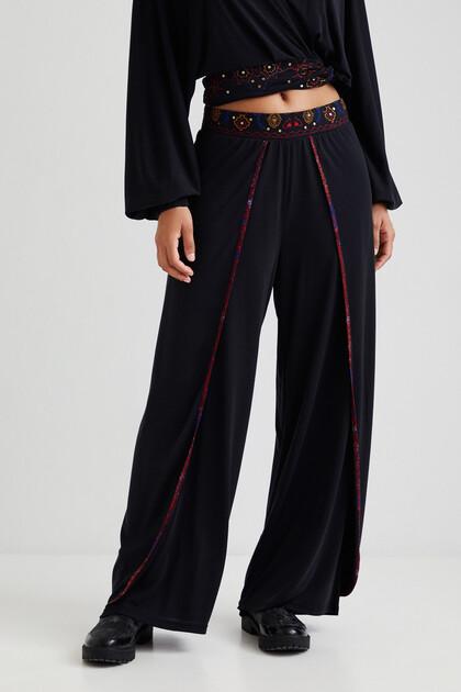 Pantalon long double épaisseur