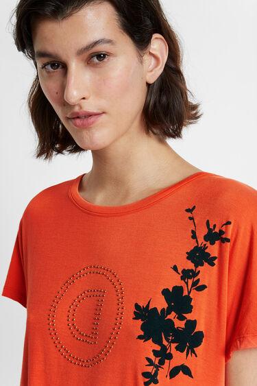 T-shirt à dos plissé | Desigual