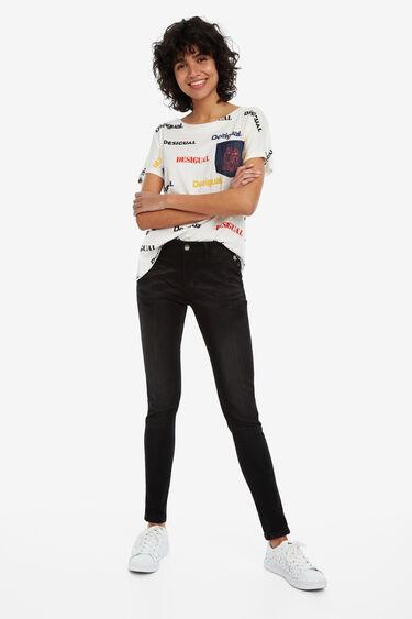 Jeans Second Skin   Desigual