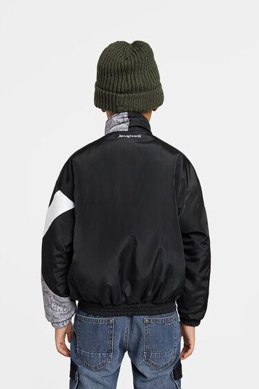 Padded jacket high neck | Desigual