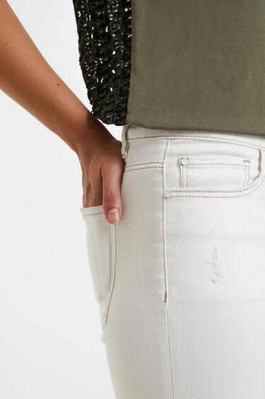 Jeans skinny cuore | Desigual