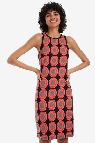 Stretch Strappy Dress Lena