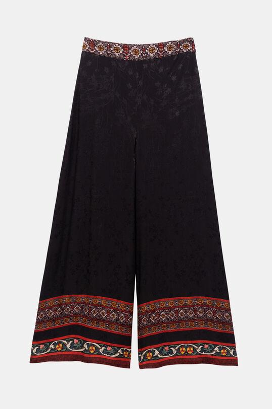 Pantaloni ampi viscosa | Desigual