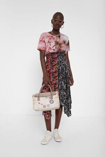 Handtasche mit aufgestickten Mandalas | Desigual