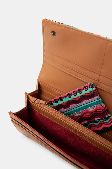 Längliches Portemonnaie Bordüren | Desigual