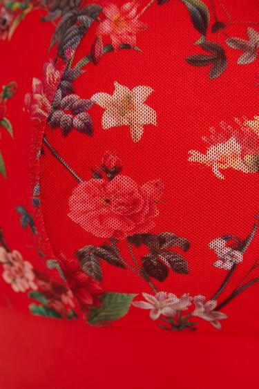 Floral technical sport top | Desigual