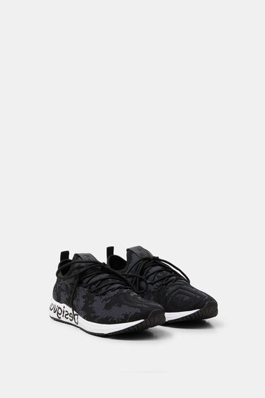 Sock sneakers mandalas   Desigual