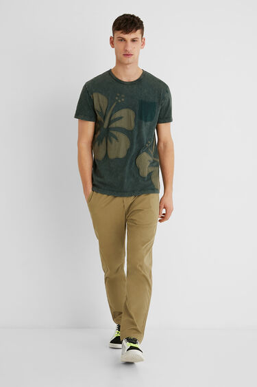 Basic-Shirt Baumwolle | Desigual