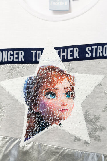 """Frozen 2"" reversible sequinned T-shirt 