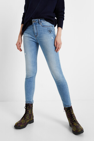 Pantalón tejano skinny