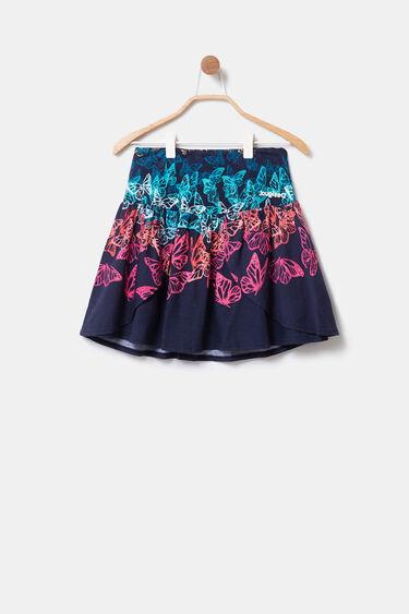 Flared miniskirt multicolour tulle butterflies | Desigual