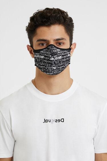 Masque lettering+housse | Desigual