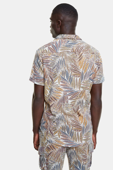 Recycled tropical shirt | Desigual