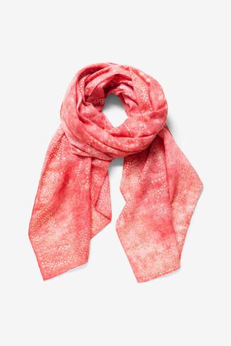 Fulard mandales galàctics puntillistes