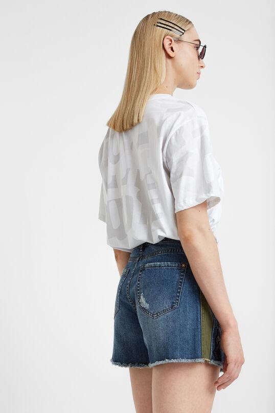 Faldilla pantaló denim | Desigual