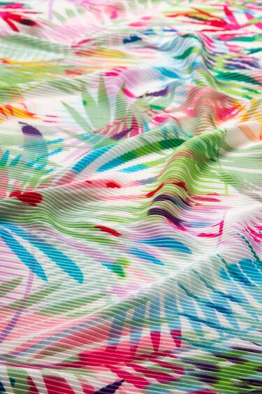 Foulard plissé palmiers Palm   Desigual
