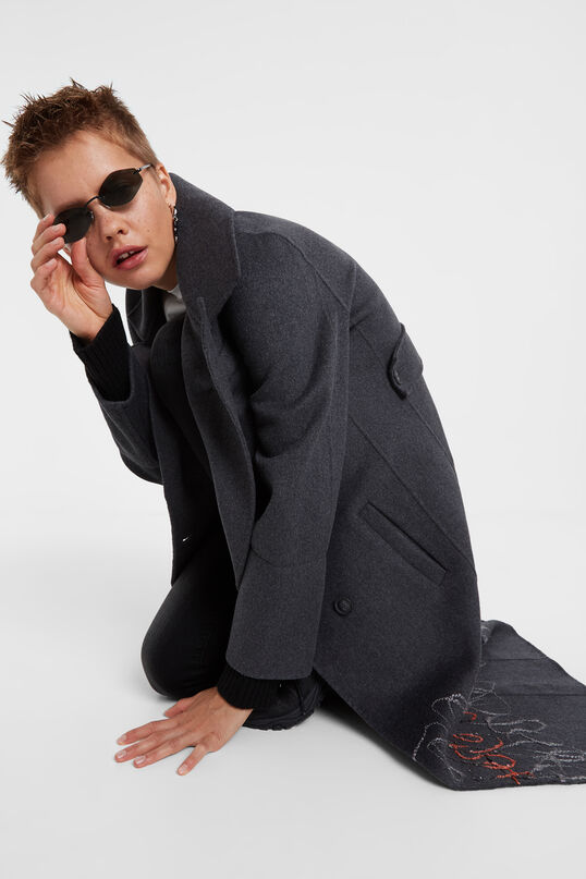 Wool coat | Desigual