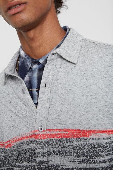 Camisa slim manga larga | Desigual
