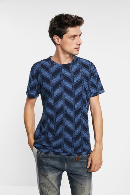 T-Shirt Jacquard Zapfen