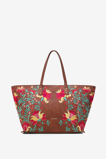 Maxi-Bag Blumenmuster