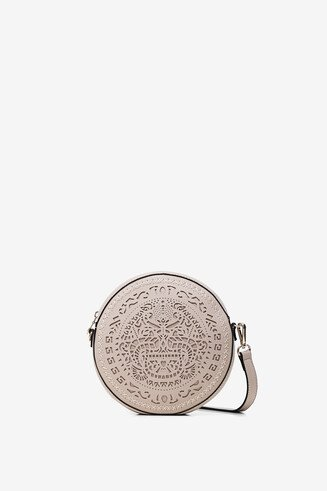 2 in 1 sling bag with tribal embossing