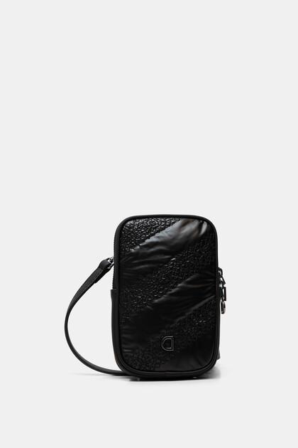 Rectangular sling bag coin purse