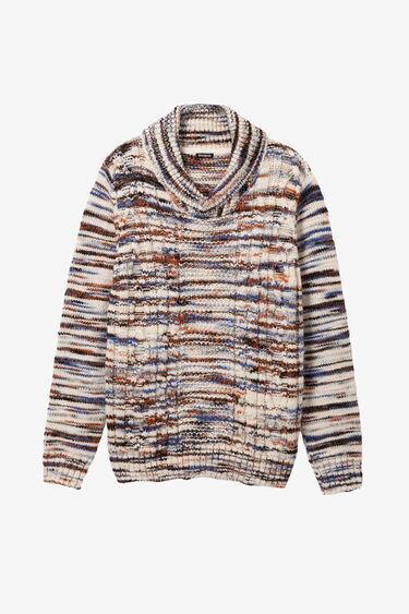 Chimney neck sweater | Desigual