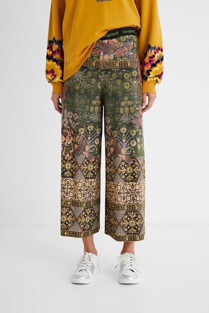 Hindu culotte trousers