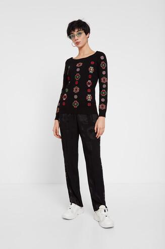 Geometric mandalas sweater