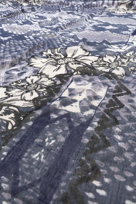 Foulard reptile skin flowers | Desigual