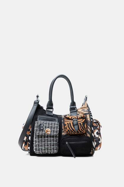 Patchwork urban bag