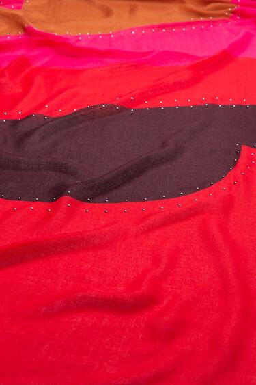 Logomaniac studs foulard   Desigual