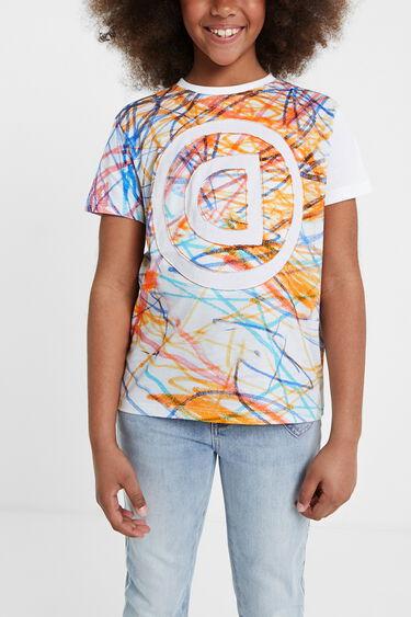 Multicolour bolimania T-shirt | Desigual