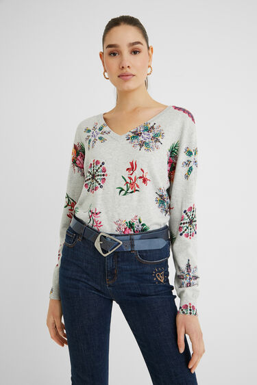 Cintura similpelle patch | Desigual