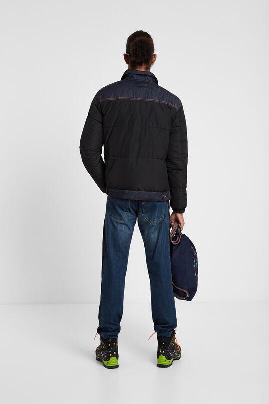 Padded denim jacket | Desigual