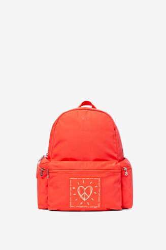 Orange Backpack OSS