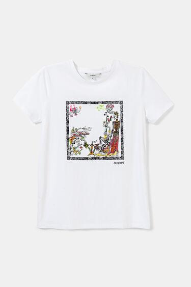 Koszulka organiczna z onirycznym nadrukiem | Desigual