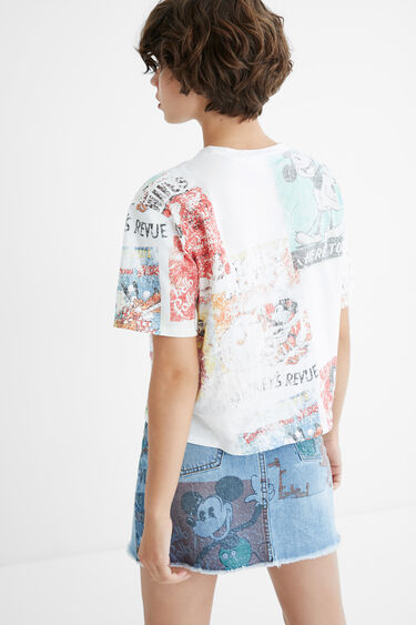 Camiseta 100% algodón Mickey Mouse | Desigual