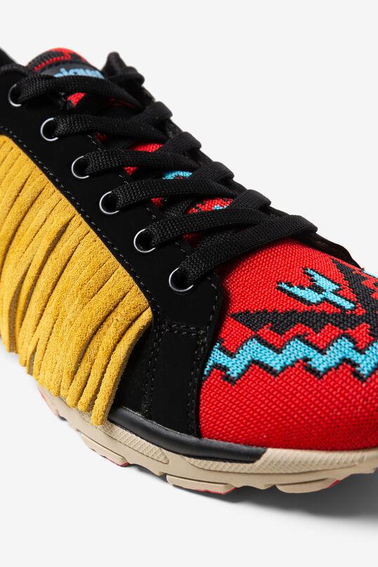 Navaho style fringe sneakers | Desigual