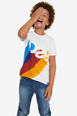 T-shirt logo consonnes David