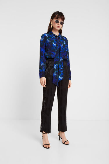 Blusa estampado mandalas tie dye | Desigual