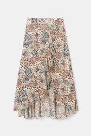 Flounced skirt mandalas   Desigual